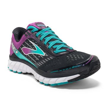 Brooks Ghost 9 Women's Running Shoe Black/ Sparkling Grape/ Ceramic