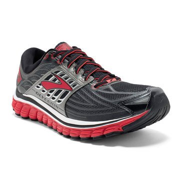 Brooks Glycerin 14 Men's Running Shoe Black/ High Risk Red/ Anthracite