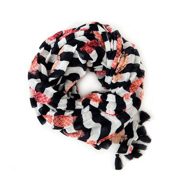 Spartina 449 Pineapples & Stripes Scarf