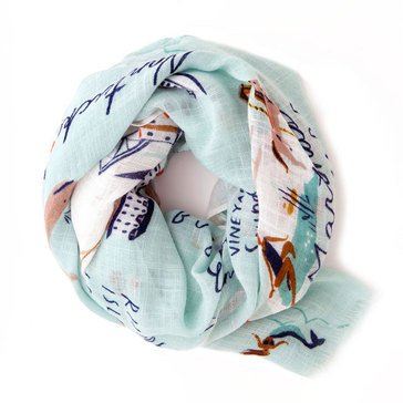 Spartina 449 Northeastern Harbors Scarf