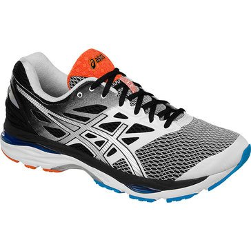 Asics Gel-Cumulus 18 (2E) Men's Running Shoe White / Silver / Black