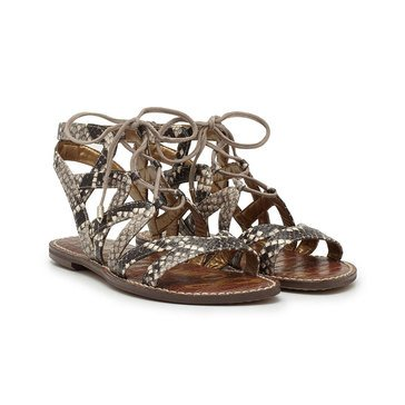 Sam Edelman Gemma Women's Sandal Putty Snake