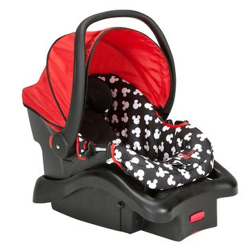 Disney Light 'n Comfy Luxe Infant Car Seat, MIckey