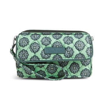 Vera Bradley All In One Crossbody for the Iphone +6 Nomadic Blossoms