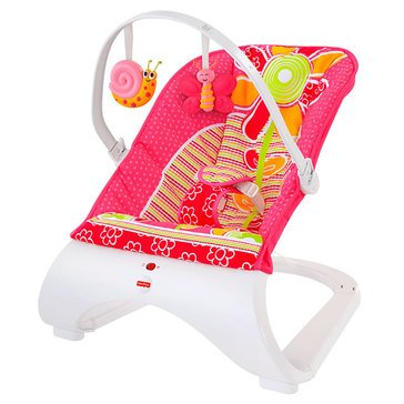 Fisher-Price Comfort Curve Bouncer, Floral Confetti