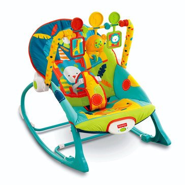 Fisher-Price Infant to Toddler Rocker, Safari