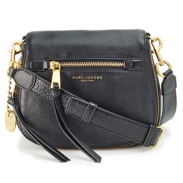 Marc Jacobs Recruit Small Saddle Bag Black