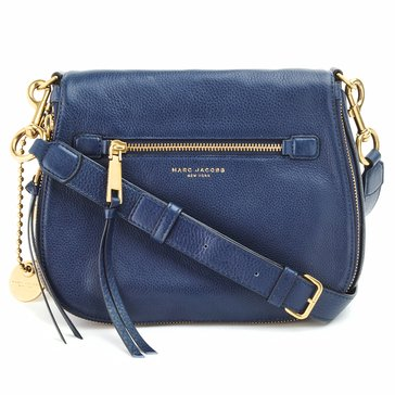 Marc Jacobs Recruit Saddle Bag Navy Blue