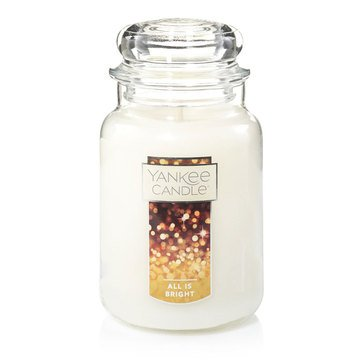 Yankee Candle All is Bright Large Jar Candle