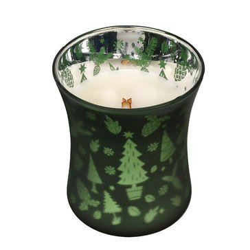 Woodwick Frasier Fir 10 oz Dancing Glass Candle
