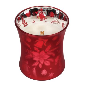 Woodwick Crimson Berries 10 oz Dancing Glass Candle