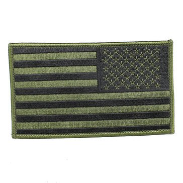 Eagle Crest O.D. Green Reverse America Flag 3