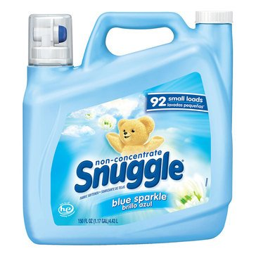 Snuggle Fabric Softener Liquid Blue Sparkle, 150oz