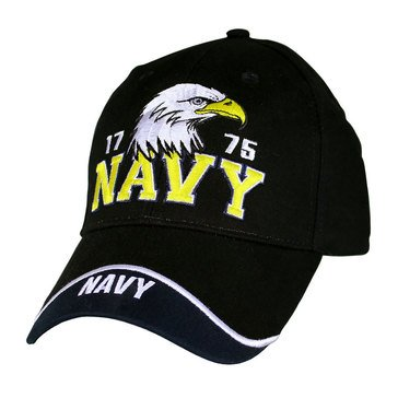 EC USN EST 1775 WITH EAGLE CAP NAVY