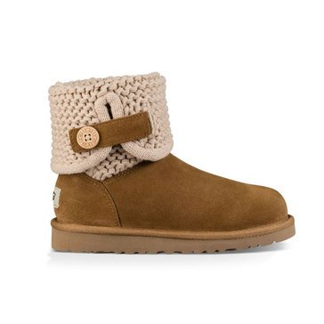 Ugg K Darrah Girl's Casual Boot -Chestnut