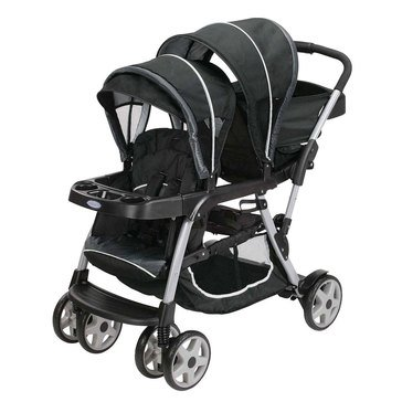 Graco Ready 2 Grow Duo LX Click Connect Stroller, Gotham