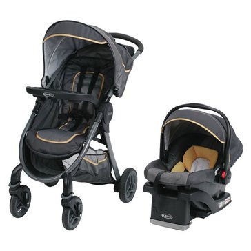 Graco FastAction Fold 2.0 Travel System, Sunshine