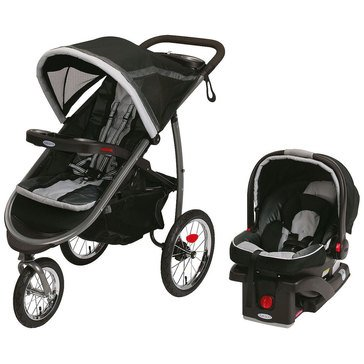 Graco FastAction Fold 2.0 Travel System, Gotham