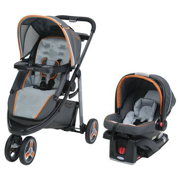 Graco Modes Click Connect Sport Travel System, Tangerine