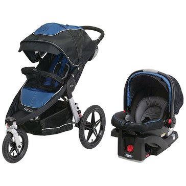 Graco Relay Click Connect Travel System, Jaguar