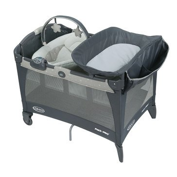 Graco Pack 'n Play Playard with Newborn Napper Station LX, Stratus