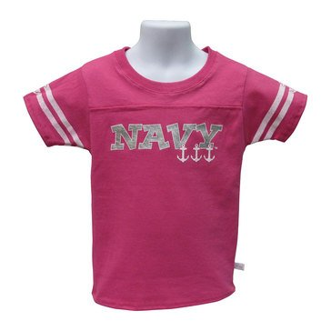 Third Street Sportswear Youth Girls' USN Short Sleeve Tee