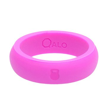 Qalo Women's Silicone Band, Pink