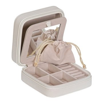 Mele & Co. Dana Jewelry Travel Case, Ivory