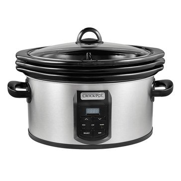 Crock-Pot Choose-A-Crock Programmable Slow Cooker, SS (SCCPVS642-S)