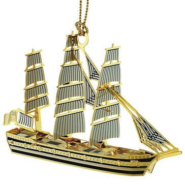 Chemart Tall Ship 3D Ornament