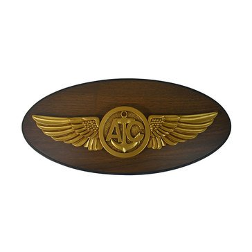 LS Enterprises USN Naval Aircrew Warfare Specialist Oval Plaque With Medallion