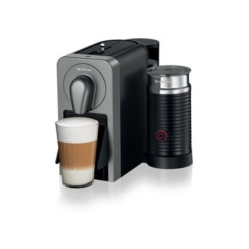 Nespresso Prodigio Titan Espresso Machine with Aeroccino Milk Frother (C75-US-TI-NE)