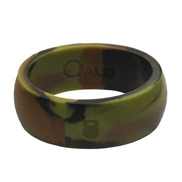 Qalo Men's Silicone Band, Camo
