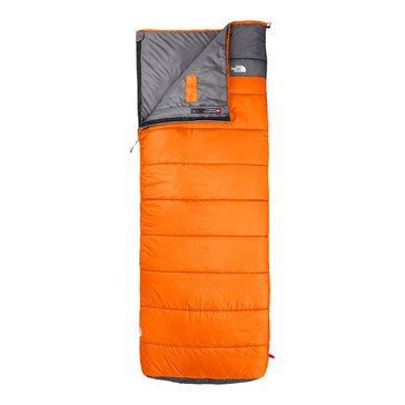 The North Face Dolomite 40/4 Sleeping Bag - Rust Orange / Zinc Gray - Regular