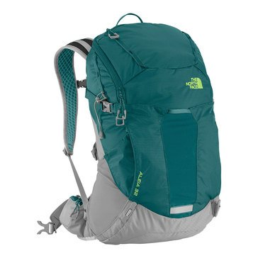 The North Face Aleia 32 Pack - Blue Coral / Budding Green - XS/S