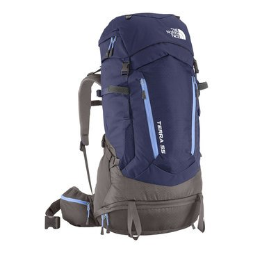 The North Face Women's Terra 55 Pack - Patriot Blue / Persian Jewel - XS/S