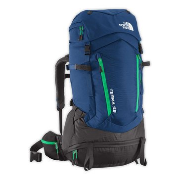 The North Face Terra 50 Pack - Estate Blue / Blarney Green - S/M