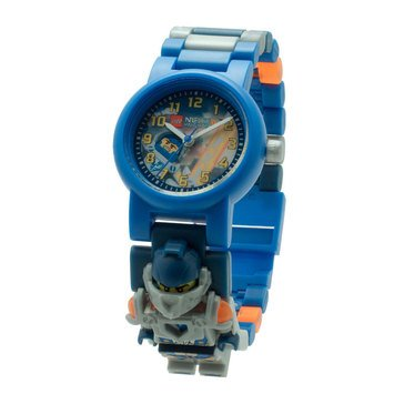 LEGO Kids' Nexo Knights Clay Minifigure Link Watch