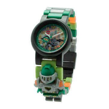 LEGO Kids' Nexo Knights Aaron Minifigure Link Watch