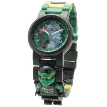LEGO Kids' Ninjago Lloyd Sky Pirates Minifigure Link Watch