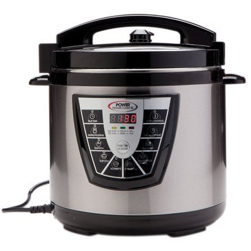 Electric Power Pressure Cooker XL 10-Quart (PPC-10)