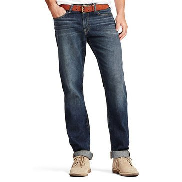 Lucky Brand Men's 410 Athletic Fit Straight R 32