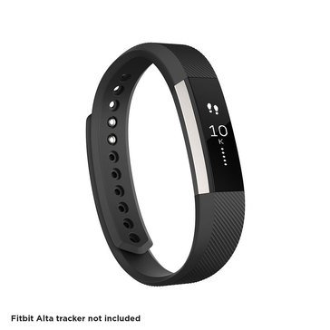 Fitbit Alta Classic Accessory Band - Black / Small