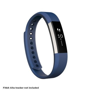 Fitbit Alta Classic Accessory Band - Blue / Small