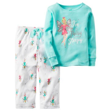 Carter's Little Girls' 2-Piece Fairies Cotton Pajamas