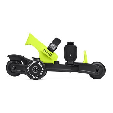 Cardiff Cruiser Skates - Youth - Black With Lime Accent