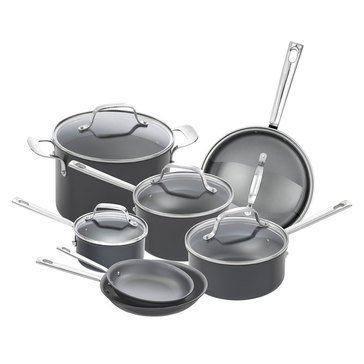 Emeril 12-Piece Hard Anodized Cookware Set