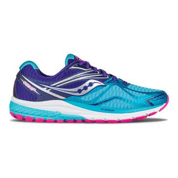 Saucony Ride 9 Women's Running Shoe Navy/ Blue/ Pink