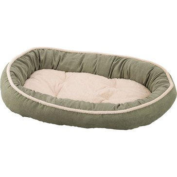 Ethical Pets Sleep Zone Shearling Oval Cuddler Sage 35