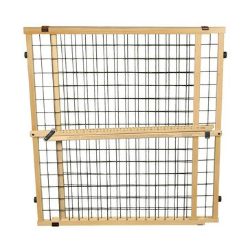 North States Extra Wide Wire Mesh Pet Gate 32''H